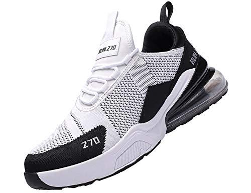 SINOES Herren Laufschuhe Atmungsaktiv Gym Turnschuhe Freizeit Schnürer Sportschuhe Sneaker Gold Peep Toe Schuhe