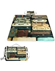 TIZORAX - Maletas Antiguas de Estilo Vintage, Impermeables, para Picnic, Camping, Senderismo
