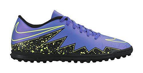 Nike  Hypervenom Phade II TF, Chaussures de football hommes Morado / Negro / Verde (Hyper Grape/Hypr Grape-Blk-Vlt)