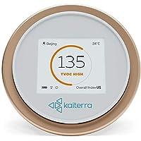Laser Egg 2+ medidor de calidad de aire interior. Mide PM2,5/temperatura/humedad/químicos/COV. Monitoreo de polución de aire en casas y oficinas, WiFi habilitados, funciona con Android y Apple HomeKit