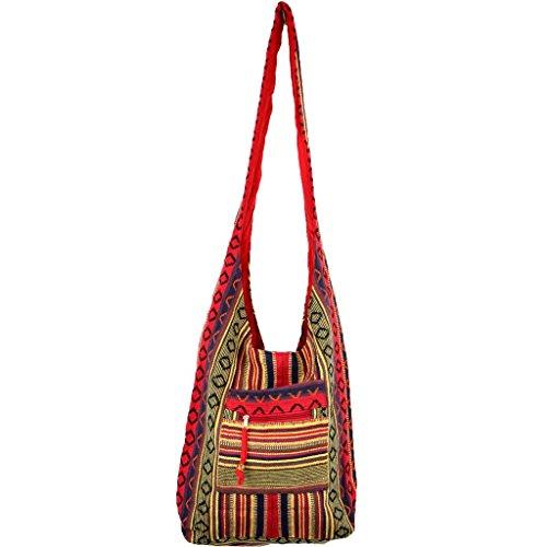 Diamond Pattern Shoulder Bag