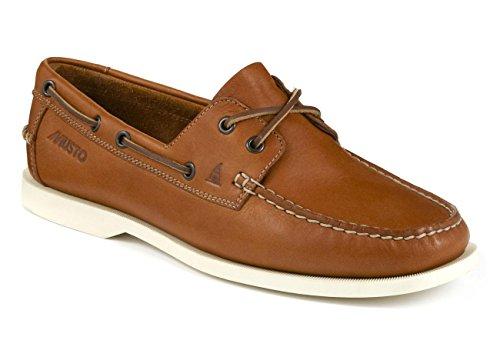 Musto Nautic Bay Shoes - Dark Brown/Tobacco White