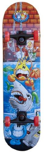 Flameboy Wet Willy Rebel Series Shark Tank Skateboard
