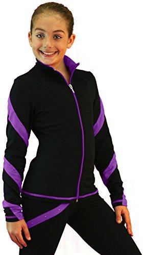 chloe-noel-j36-black-black-purple-spiral-skating-jacket-age-4-6