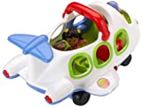 Enlarge toy image: Fisher Price Little People J0895 Little Movers Airplane - infant and baby development