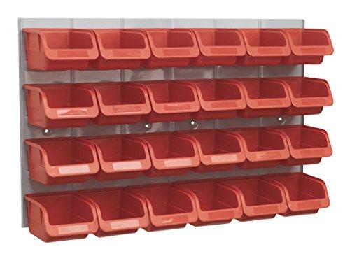 Generic dyhp-a10-code-2334-class-1-Rot für Garage/Werkstatt/Schuppen funktioniert Neue 24SEALEY Teile + Scheibe Aufbewahrungsbox/Mülleimer RTS S PANEL SEALEY--dyhp-uk10-160819-364 Sealey Panel