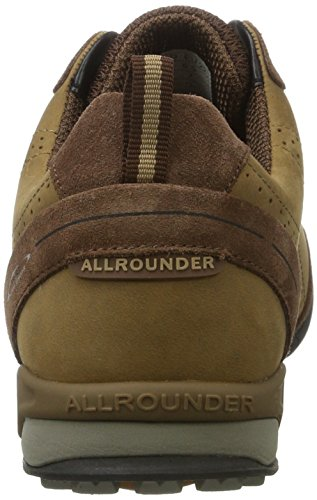 Allrounder by Mephisto Tajalo, Chaussures Multisport Outdoor Homme Braun (caramello)
