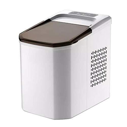Kleine Haushalts-Tragbare Eismaschinen-Maschine Füt Countertop,Machen Sie 33 Pfund Eis In 24 Stunden,Intelligente Mute Und Wasser Automatische Eisspeicher-Block Für Parteien MischgeträNke