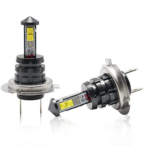 H7 LED Brouillard Lampe Ampoule CREE 1600LM 20W 6500K 12V Moto DRL Led Avant feu Feux de brouillard Ampoule
