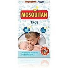 MOSQUITAN Mosquito Parches Deet libre perfecto para los niños - Paquete de 24