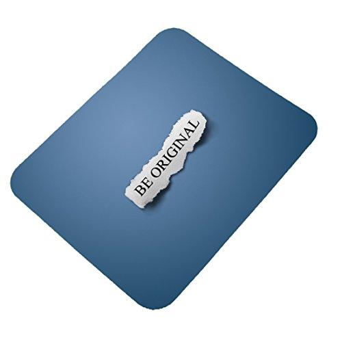 Clapcart Be Original Mauspad für PC/Laptop, Bedruckt, gummiert, Mehrfarbig - 0132 Laptop