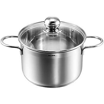 Pendeford 14 CM Silver Stainless Steel Milk Pan 3 MM Encapsulated Base