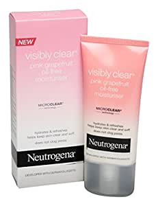 neutrogena visibly clear cr me hydratante non grasse pamplemousse rose 50 ml beaut. Black Bedroom Furniture Sets. Home Design Ideas