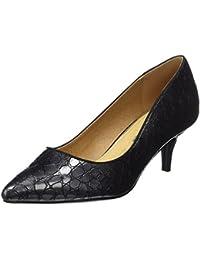 Roby, Oxford Femme - Noir - Noir (Cuir Noir), 38 EUMaria Mare