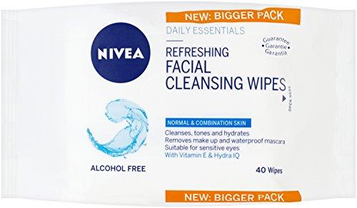 9c086f97416f7 Nivea Daily Essentials 3 en 1 Toallitas de limpieza facial