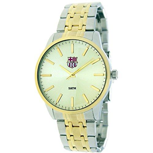 4e3ba43764325 RADIANT Reloj analógico de caballero F.C.BARCELONA – Cadena bicolor –  BA-15602 Enzo