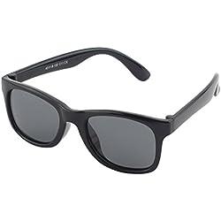 Cheapass Occhiali da Sole Wayfarer Opaci Lenti Specchiati Neri Arancioni 100% UV400 Protetti xVu65Q