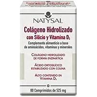 Colágeno con Silicio y Vitamina D3 80 comprimidos de Natysal