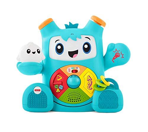 Fisher-Price FXD03 - Rockit, interaktives Lernspielzeug zum Lernen von Buchstaben, Zahlen, Formen und Farben, Spielzeug ab 6 Monaten, deutschsprachig