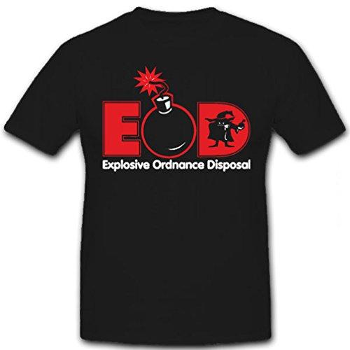 EOD Explosive Ordnance Disposal - T Shirt #6587, Farbe:Schwarz, Größe:Herren 4XL -