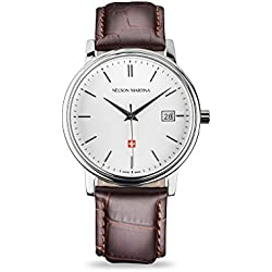 Men's Watch Nelson Martina Classic Silver 301