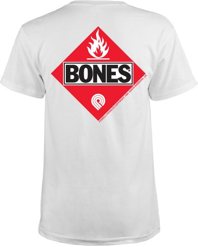 powell-peralta flamable T-Shirt weiß