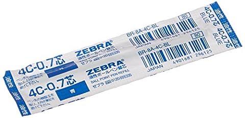 Zebra Kugelschreibermine 4C für Fortia 500 0,7mm blau