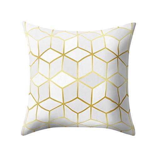 2019 nuovo la moda geometria rose, l'oro nero, unico cuscino square federa home decorazioni 45cm×45cm/ 18 × 18 pollici by wudube