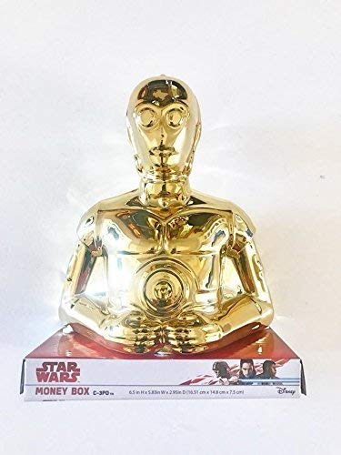 Lucas Films Star Wars C-3PO Caja Dinero Hucha Oficial