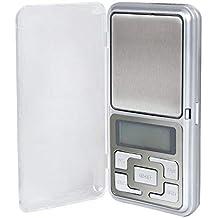 ZHANGYUGE 500g x 0,1g Mini portátil Báscula Digital de precisión balanzas electrónicas para la
