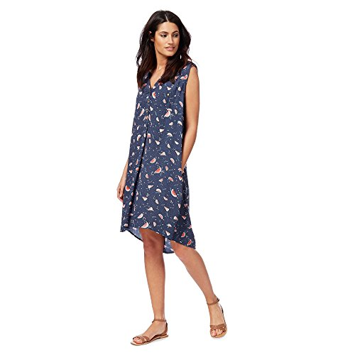 Mantaray Womens Navy Watermelon Print Dress From Debenhams 16