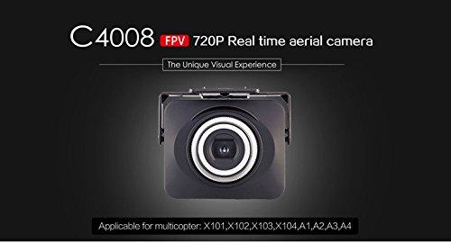 s-idee 01523 Wifi HD Kamera C4008 mit Tonaufzeichnung für Drohne MJX X101 - 2