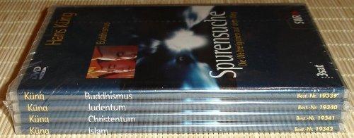 4 DVD's - SPURENSUCHE - Die Weltreligionen auf dem Weg. DVD 1: Buddhismus - DVD 2: Judentum - DVD 3: Christentum - DVD 4: Islam