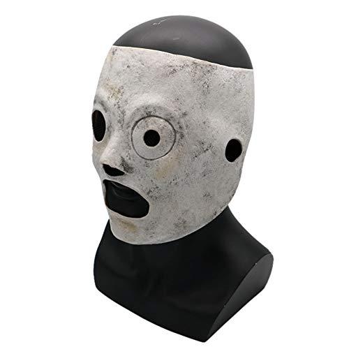 GreSky Horror Mask Halloween Thema Slipknot Band Harz Latex Maske Parteien Bar Unterhaltung für Erwachsene Männer Halloween Kleidung