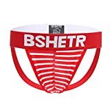 POIUDE Ausverkauf Herren Slip Low Waist Herren Boxershorts Slips Unterhosen Unterwäsche(Rot3, Medium)