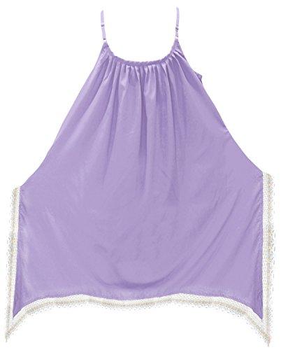 La Leela Damen-Bademode Abdeckung Badeanzug Bikini sundress Strandkleid Designer ups Lila