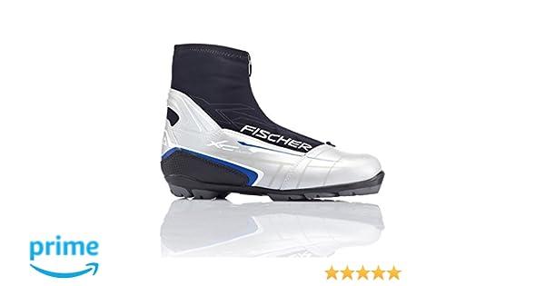Fischer Scarpe per sci da fondo Fischer XC Touring T3 silver, scarponi da sci per attacco NNN., EU42 UK8