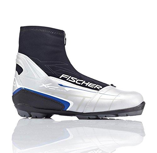 Langlauf Skischuhe Fischer XC Touring T3 silver EU42 UK8 Skistiefel für NNN-Bindung