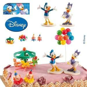 Les Colis Noirs LCN - Kit PVC Daisy et Donald Disney - Decoration gâteau Anniversaire - 032