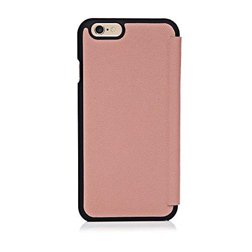 Knomo Leder-Schutzhülle für iPhone 6/6s – rosa Clay