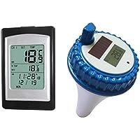 lzndeal termómetro de Piscina Flotante Digital termómetro de Piscina Flotante Digital Monitoreo de la Temperatura del Agua