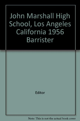 chool, Los Angeles California 1956 Barrister ()