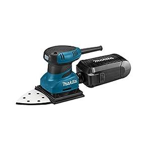Makita BO4565K Lijadora, 200 W, 230 V, Negro, Azul