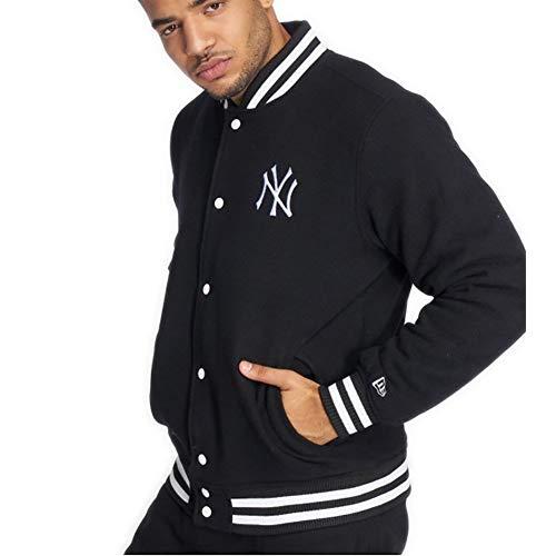 New Era Herren College Jacke New York Yankees schwarz M