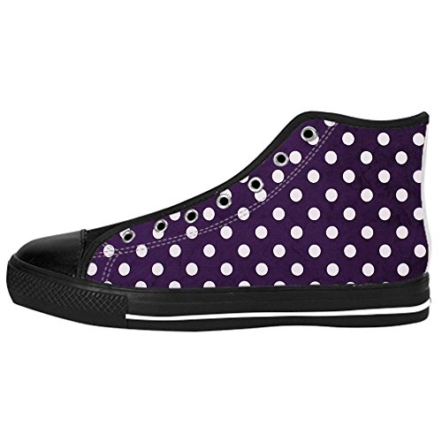 Dalliy polka dots Kids Canvas shoes Schuhe Lace-up High-top Footwear Sneakers C