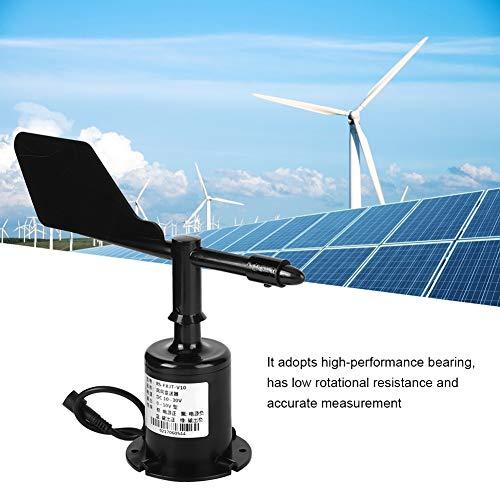 Sensor de Velocidad del Viento, 0-10 V 8 direcciones Salida de señal Ambiental Anemómetro de policarbonato...