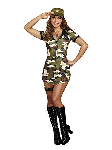 Dreamgirl 10660Booty Camp Kostüm, X-Large -