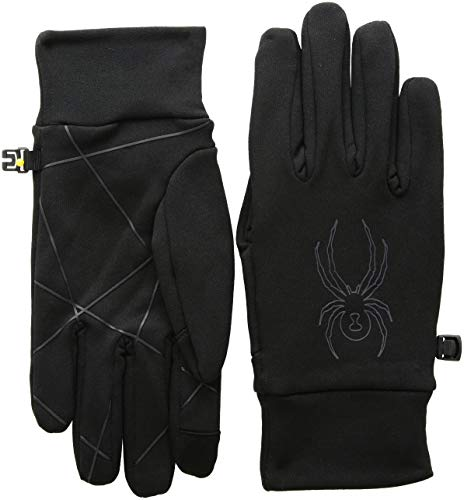 Spyder Herren Solace Stretch Fleece Handschuhe, Black, M Stretch-herren-fleece