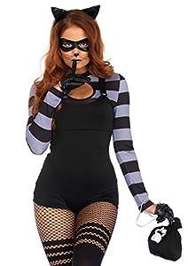 Leg Avenue- Mujer, Color Negro, Medium (EUR 38-40) (86715 00102-001-M)