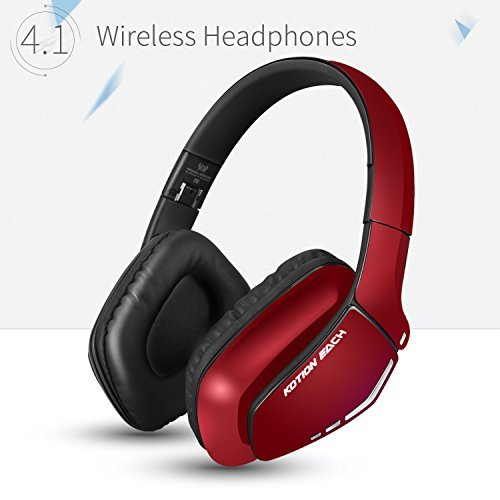 KOTION EACH Auriculares Bluetooth Wireless Headset B3506 Plegable Gaming Headset v4.1 con...